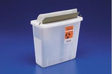 Picture of COVIDIEN 5QT SHARPS W/MAILBOX STYLE LID