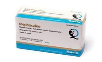 Picture of QUALA  MEPIVACAINE 3% PLAIN