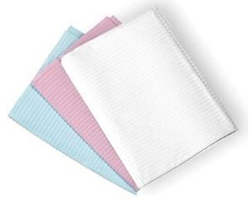 Picture of CHAIN-FREE PATIENT BIBS-PINK