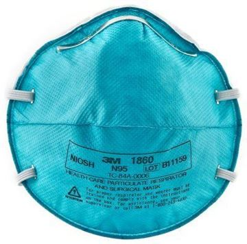Picture of RESPIRATOR SURGICAL MASK