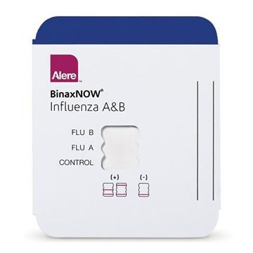 Picture of ALERE BINAX NOW INFLUENZA A&B TEST