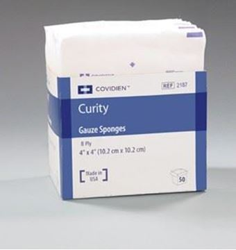Picture of CURITY 4X4 STERILE GAUZE 8 PLY