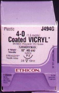 Picture of ETHICON VICRYL (POLYGLACTIN 910) SUTURES