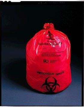 "Picture of 11"" X14"" INFECTIOUS WASTE BAG"