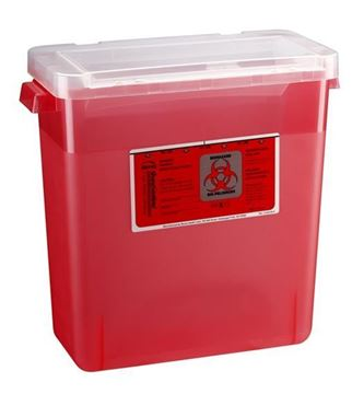 Picture of BEMIS 3 GALLON SHARPS CONTAINER