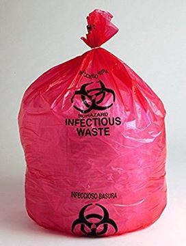 Picture of RED DISPOSABLE BAGS