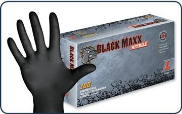 Picture of DASH BLK MAXX NITRILE MED