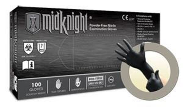 Picture of MIDKNIGHT PF NITRILE EXAM X-LARGE