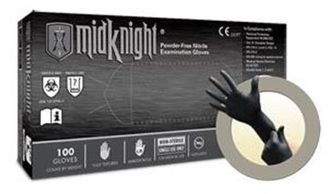 Picture of MIDKNIGHT PF NITRILE EXAM X-SMALL
