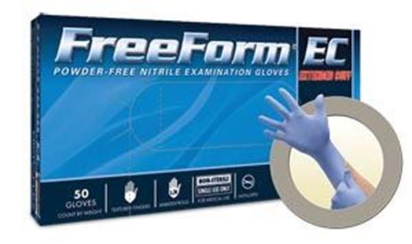 Picture of FREEFORM EC PF NITRILE EXAM SMALL