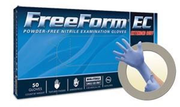 Picture of FREEFORM EC PF NITRILE EXAM MEDIUM