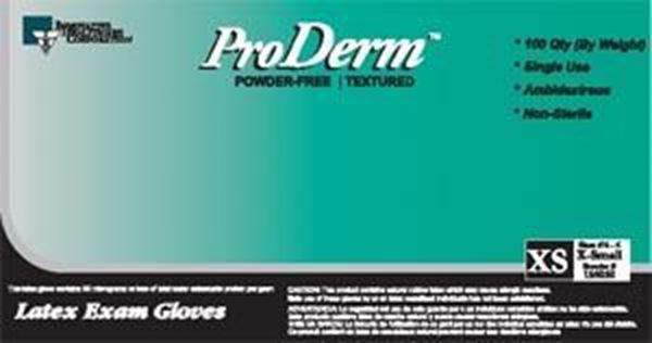 Picture of PRODERM POWDERED-FREE XSM