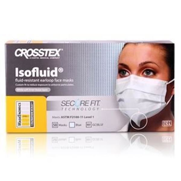 Picture of CROSSTEX SECUREFIT FACE MASK- LAVENDER
