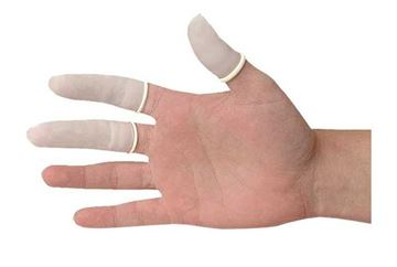Picture of FINGER COTS LATEX LARGE