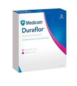 Picture of MEDICOM DURAFLOR 5% SODIUM FLUORIDE