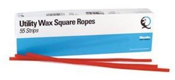 Picture of QUALA UTILITY WAX SQUARE ROPES-RED