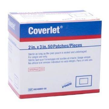 Picture of COVERLET ADHESIVE PATCHES 2X3