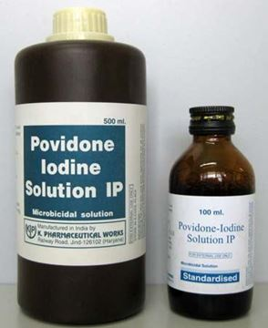 Picture of POVIDONE IODINE SOLUTION