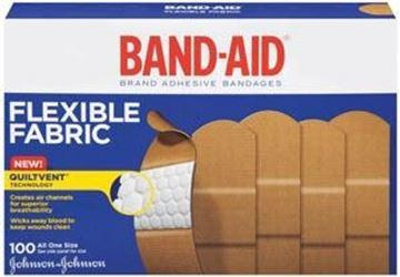 Picture of J&J BAND-AID FABRIC ADHESIVE 1 X 3