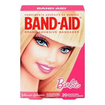 Picture of J&J BARBIE  ADHESIVE BANDAGES