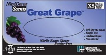 Picture of GRAPE NITRILE EXAM GLOVE-MED