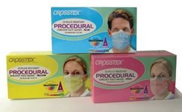 Picture of CROSSTEX PROCEDURAL FACE MASK