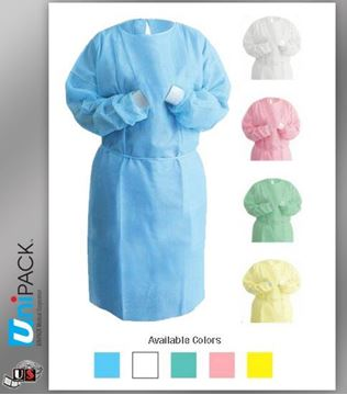 Picture of ISOLATION GOWN-YELLOW