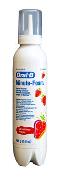 Picture of ORAL B MINUTE FOAM- STRAWBERRY