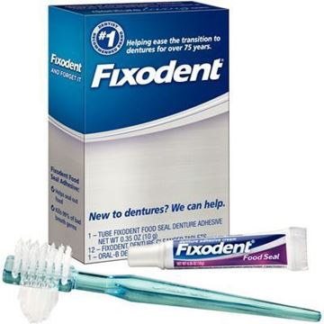 Picture of P&G FIXODENT DENTURE KIT