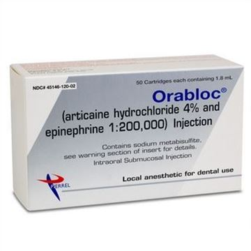 Picture of MFA PIERREL PHARMA ORABLOC ARTICAINE