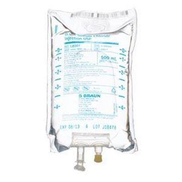 Picture of SODIUM CHLORIDE 9% 500ML BAG