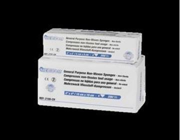 "Picture of MEDICOM SAFEGAUZE SPONGES, 4"" x 4"""