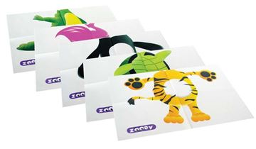 Picture of ZOOBY PEDIATRIC BIBS 2 PLY + 1 PLY POLY
